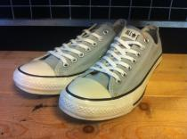 converse ALL STAR COLORS CLASSIC OX (グレー) USED
