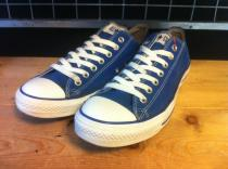 converse ALL STAR OX (ブルー) USED