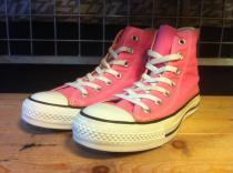 converse ALL STAR HI (ピンク) USED