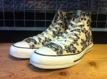 converse ALL STAR ELBA HI (ホワイト/ネイビー) USED