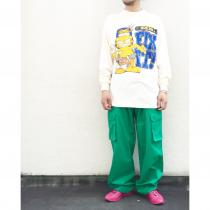 【 Garfield printed L/S T-shirt 】 recommend for Men. .