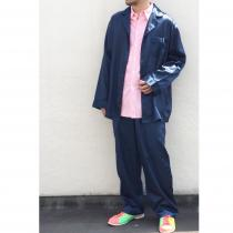 【 whole pattern pajamas  set-up 】 recommend for Men.