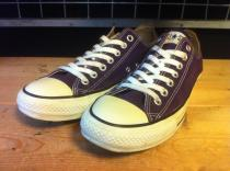 converse ALL STAR COLORS OX (クラシックパープル) USED