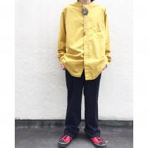 【  Stand-up collar L/S shirt 】 recommend for Men.