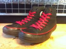 converse ALL STAR EMPIRE-STATE HI (ブラック/レッド) USED