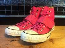 converse ALL STAR RAVE HI (ピンク) USED