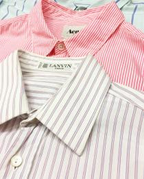 【 L/S designers striped shirt 】 recommend for Men.