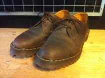 Dr.Martens 3ホールローカット (ブラウン) USED