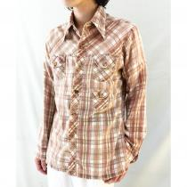 【 70s Alfie L/S 3pockets DESIGN SHIRT 】 recommend for Men.