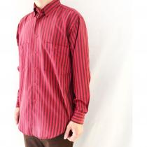 【 striped L/S B.D SHIRT 】 recommend for Men.
