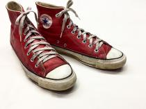 【 80's VINTAGE 】 CONVERSE ALL STAR HI leather sneaker