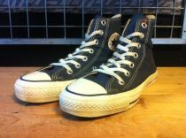 converse ALL STAR HI (ネイビー) USED