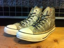 converse ALL STAR GLITTEST HI (シルバー) USED