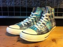 converse ALL STAR SURFBAG HI (ブルー) USED