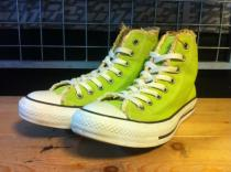 converse ALL STAR AGING HI (グリーン) USED