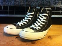 converse ALL STAR 100 COLORS HI (ブラック) USED