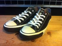 converse ALL STAR MULTI-LEATHER OX (ブラック/シルバー) USED
