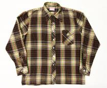 【 check pattern long sleeve shirt 】