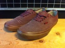 VANS AUTHENTIC (エンジ) USED