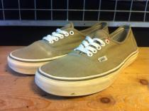VANS AUTHENTIC (ベージュ) USED