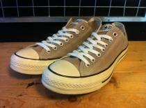 converse ALL STAR OX (ベージュ) USED