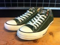 converse ALL STAR OX (フォレストグリーン) USED