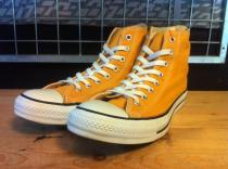 converse ALL STAR HI (ゴールド) USED