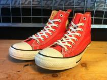 converse ALL STAR PAINTER-PANTS HI (レッド) USED