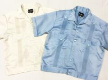 【 cuba / guayabera Short length S/S shirt】 recommend for Men.