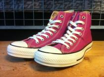 converse ALL STAR HI (ディーバパープル) USED