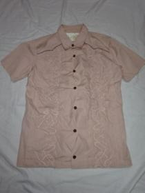 Embroidery Design Short Sleeve Shirt
