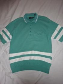 1980's Lib Design Bi-Color Polo Shirt