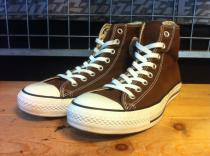 converse ALL STAR HI (ブラウン) USED
