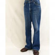 【 70s Levi's 646 】 Denim Flared pants recommend for Men.