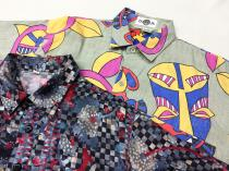 【  Whole pattern S/S shirts 】 recommend for Men. . 両方共に Thank you soldout◯ .