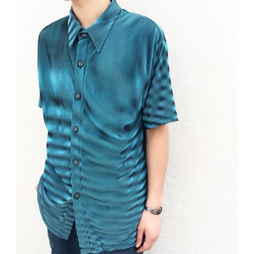 【  pleating design S/S shirt 】 recommend for Men.写真