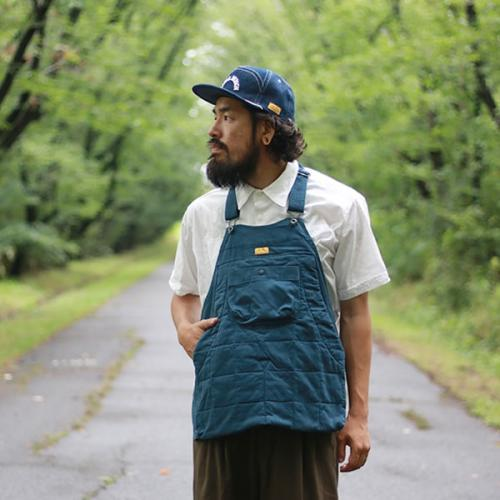 Natal Design/HOLTER APRON QUILTED ARMY CORDがRin中崎店に再入荷。写真