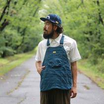 Natal Design/HOLTER APRON QUILTED ARMY CORDがRin中崎店に再入荷。