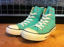 converse ALL STAR HI (ターコイズブルー) USED