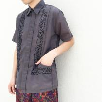【 cuba / guayabera design S/S shirt】 recommend for Men.