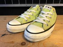 converse ALL STAR OX (ライムグリーン) USED