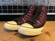 converse ALL STAR METAL-COTTON HI (パープル) USED