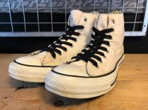 converse ALL STAR L-S&D HI (ホワイト/ブラック) USED