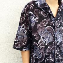 【 ORIENTAL PATTERN MESH S/S SHIRT 】 recommend for Men.