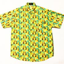 【 Alphabet design S/S shirt 】