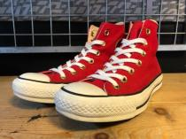 converse ALL STAR FD HI (レッド) USED