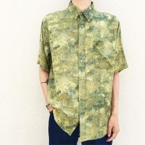 【 whole pattern design S/S shirt 】 recommend for Men.