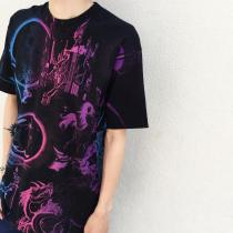 【 whole pattern design T- shirt 】 recommend for Men.