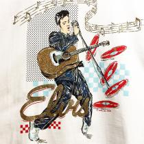 【 90's Elvis Presley music t-shirt 】 recommend for Men.