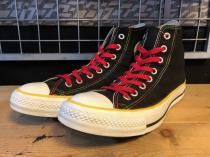 converse ALL STAR S HI (ブラック/ラスタ) USED